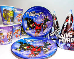 transformers party transformers party etsy
