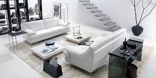 Black And White Coffee Table Bright Living Room Natuzzi With White Sofa Glass Table