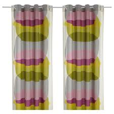 Kitchen Curtains Ikea 39 99 Malin Figur Pair Of Curtains Ikea Product Dimensions