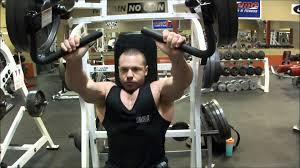 Seated Bench Press Proper Hammer Strength Incline Bench Press Execution Youtube