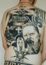 metallica snake tattoo ink pinterest snake tattoo metallica