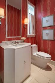 photos hgtv red powder bathroom with wallpaper idolza