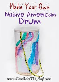 musical crafts for how to make a american drum