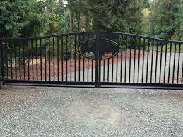 gate and fence ornamental aluminum fence sliding gate automatic