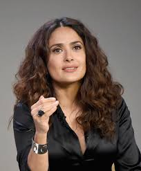 salma hayek long curls long hairstyles lookbook stylebistro