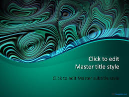 templates powerpoint abstract green abstract ppt template
