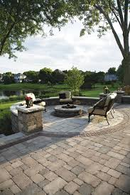 patio examples five makeover ideas for your patio area fire pit patio stone
