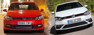 volkswagen polo red 2015 facelifted volkswagen polo gti u2013 old vs new compared carwow