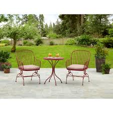 Ebay Patio Furniture Sets - 3 piece metal bistro set walmart com