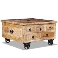 mango wood coffee table with storage dark mango coffee table wayfair co uk