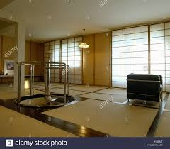 Japanese Style Apartment by Japanese Style Modern Living Room Tatami Mats On Floor Blinds