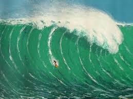 wind art free images sea ocean surf hawaii painting art surfers