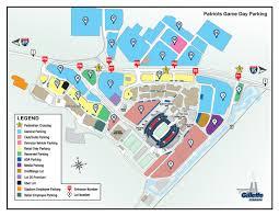 Bank Of America Stadium Map by Gillette Stadium Patriots Parking