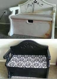 wonderfull little tikes storage bench toy box redo makeover little