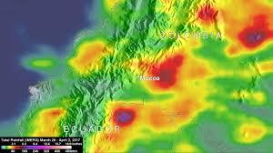 Rainfall Totals Map Nasa U0027s Imerg Measures Deadly West Virginia Flooding Rainfall Nasa