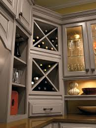 Kitchen Cabinet Inserts Wine Rack Wine Rack Kitchen Cabinet Insert Built In Wine Rack