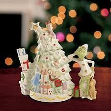 grinch max hear the whos singing ornament by lenox the