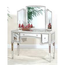 Vanity Mirror And Bench Set 3 Piece Vanity Mirror And Bench Set Antique Black Walmart Com