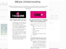 t mobile free inflight wifi t mobile s one mobile plan is not the simple unified plan that