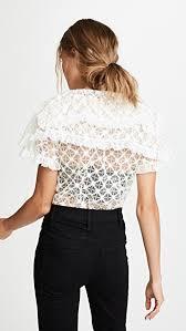 sleeve lace blouse philosophy di lorenzo serafini sleeve lace blouse shopbop