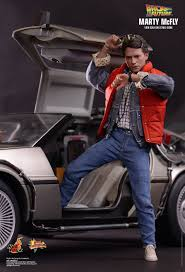 Marty Mcfly Costume Toys Back To The Future Marty Mcfly 1 6th Scale