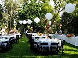 outdoor wedding decorations best outdoor wedding and reception venues wedding decor outside
