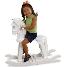 Rocking Horse High Chair Kidkraft Derby Rocking Horse White Toys