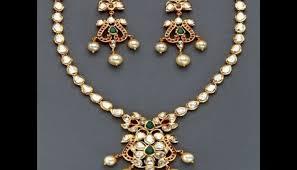 beautiful necklace designs images Beautiful lightweight uncut diamond necklace designs jewelry nook jpg