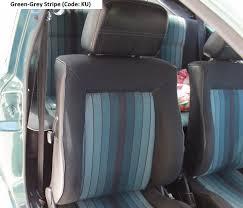 mk1 golf gti u201ccampaign u201d edition green grey stripe interior mk1
