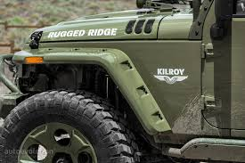green jeep rubicon 2014 jeep wrangler rubicon by rugged ridge review autoevolution