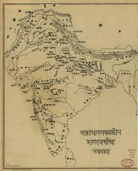 South India Map by Ancient Maps India Timeline Ramayana Mahabharata India