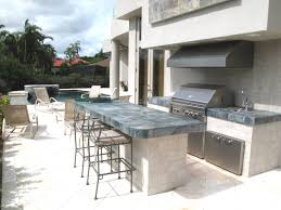 outdoor kitchen vent hood including ventilation an openspace