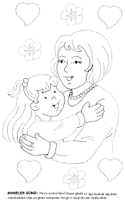 mother u0027s day coloring pages for kids preschool and kindergarten