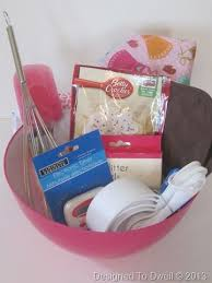 baking gift basket for kids gift baskets pinterest gift