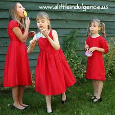 girls want little red dresses for the holiday a little indulgence