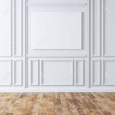 Classic Laminate Flooring Empty Classic Room With Laminate Flooring Stock Photo Picture And