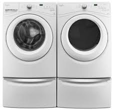 Frigidaire Laundry Pedestal Whirlpool Wfw75hefw 27 Inch 4 5 Cu Ft Front Load Washer In