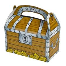 Treasure Chest Favors by Treasure Chest Treat Boxes Package Of 12 Toys