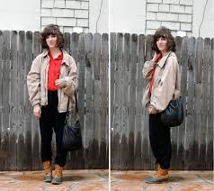 rachel l thrifted worn out men u0027s jacket j crew red button up