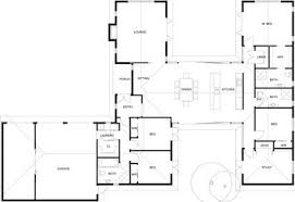 T Shaped House Floor Plans H Shaped Houses Plans House Design Plans