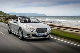 bentley convertible 2015 bentley continental gt speed fastest production model yet
