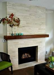 Modern Fireplace Mantel | 27 stunning fireplace tile ideas for your home diy fireplace