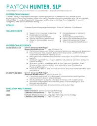 Example Pharmacist Resume by Clever Slp Cover Letter 15 Letter For Speech Language Pathologist