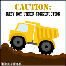 construction baby shower 25 boy baby shower theme ideas the diy lighthouse