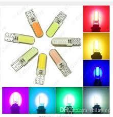 silicone light bulbs wholesale wholesale t10 cob 12 chips silicone shell 194 w5w silicone case auto