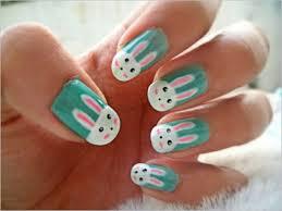 fingernã gel design osterhasen fingernã gel malen grã ne farbe nagellack design