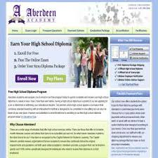 aberdeen high school online distance learning work education global weblinks directory