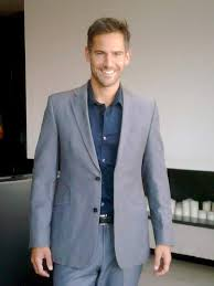 what color shirt with light grey suit grey suit light blue shirt and brown shoes style guru fashion