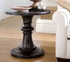 White Round Accent Table Table Endearing Round Pedestal Accent Table Diy Popular Of With