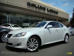 lexus is 250 van 2007 lexus is 250 awd in starfire white pearl 013099